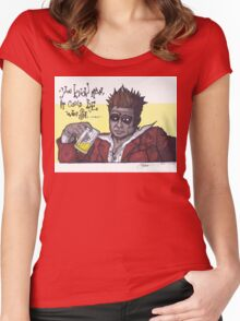 Fight Club #4 It Could Be Worse... Women's Fitted Scoop T-Shirt