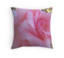 Jane Austen Rose Throw Pillow