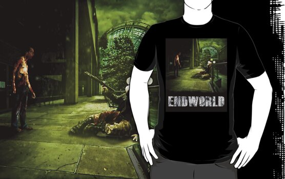 Endworld tshirt #14 by Drummy