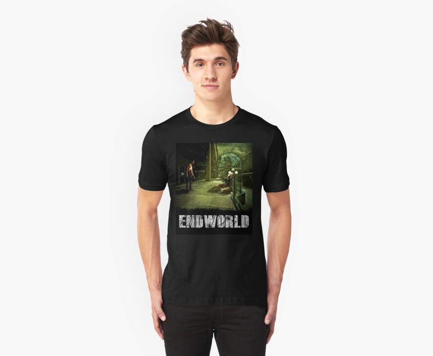 Endworld tshirt #14 by Drummy