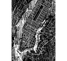 New York  map 3 Photographic Print