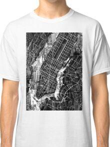 New York  map 3 Classic T-Shirt