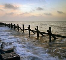 West Runton Breakers by Gary Rayner