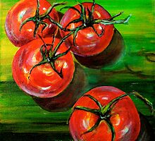Tomatoes... by ©Janis Zroback