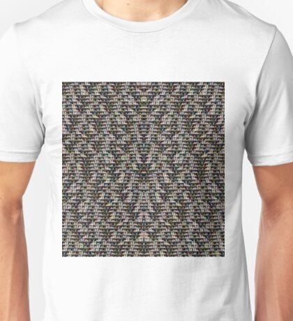 Shirtless Male Youth Pattern Unisex T-Shirt
