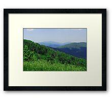 Mountain Life Framed Print