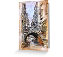 Venice 2 Greeting Card