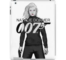 Natalie Dormer is Bond - Black and White Version iPad Case/Skin