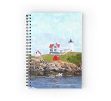 Nubble Light Spiral Notebook