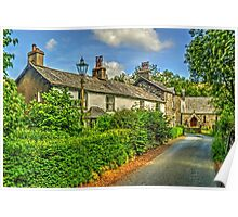 Cottages in Seathwaite Poster