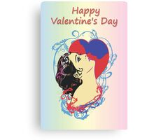 Happy Valentine's Day 1 Canvas Print