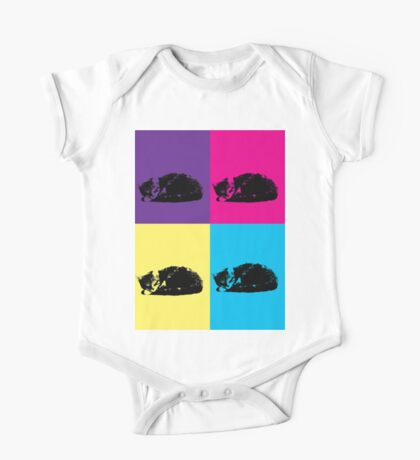 Pop Art Tabby 002  Kids Clothes