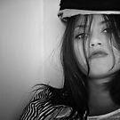 sailor hat by Rebecca Tun