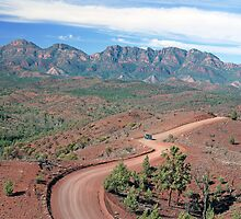 Bunyeroo Valley, Flinders Ranges, South Australia by Adrian Paul