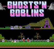 Ghosts n Goblins  by SlickVic