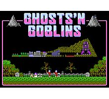 Ghosts n Goblins  Photographic Print