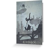 Bioshock Infinite Game Poster Greeting Card