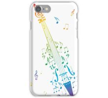 Violin with Notes 3 iPhone Case/Skin