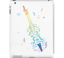 Violin with Notes 3 iPad Case/Skin