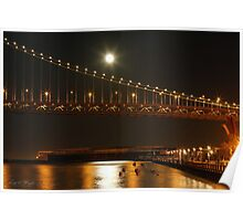 Bay Bridge Stars Poster