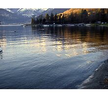 The Golden Lake Photographic Print