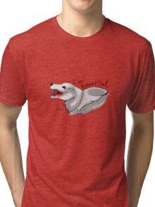 Jeff the Wolf Tri-blend T-Shirt