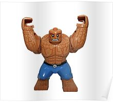 LEGO The Thing Poster