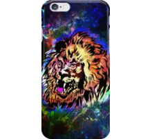 Zodiac-Lion and Chinese symbol iPhone Case/Skin