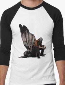 The Angel And The Skull Men's Baseball ¾ T-Shirt