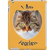 I Am Fearless iPad Case/Skin
