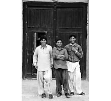 Three Baluchis Photographic Print