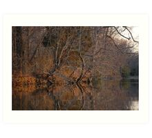 Sunset on the River Bank - West River, MD Art Print