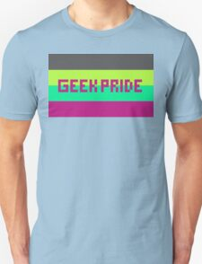 Geek Pride (Purple Font) Unisex T-Shirt