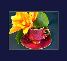 Demitasse, Ornate by Ginny Schmidt