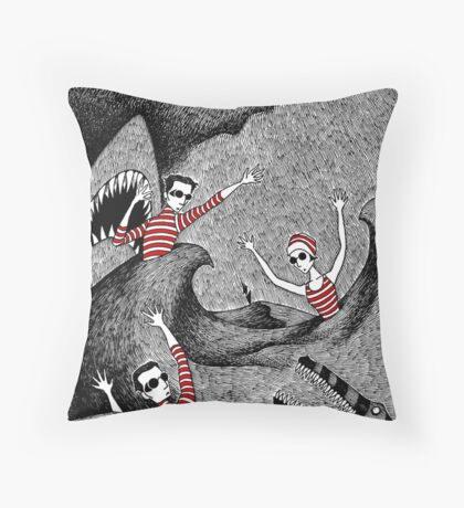 Confusio, or The Trepidations of a Tempest Throw Pillow
