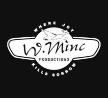 W. Minc Productions - white logo by W. Minc  Productions