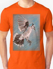 """Blue Jay"" Unisex T-Shirt"
