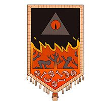 Bill Cipher Tapestry  Photographic Print