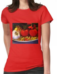Still Life Italia Womens Fitted T-Shirt