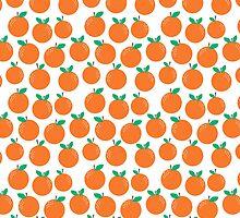 Oranges - sweet fruit summer fresh vegan vegetarian juicing cleanse art print home office decor by charlottewinter