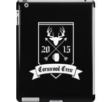 Cornwood Crew number 2 iPad Case/Skin