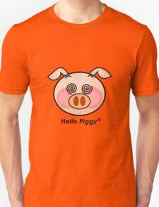 Funny Hello Piggy dazzling t-shirt  T-Shirt
