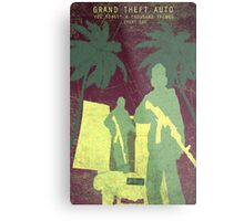 GTA 5 Gaming Poster Metal Print