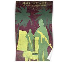GTA 5 Game Poster Poster