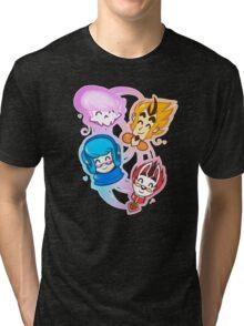 Mystery Skulls Tri-blend T-Shirt