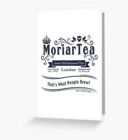 MoriarTea 2014 Edition Greeting Card