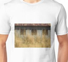 Boarded Up Windows In The Grass    #6098 Unisex T-Shirt