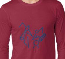 Wild Marmalade Stick Men Long Sleeve T-Shirt