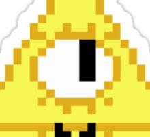 Bill Cipher Pixel Sticker