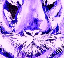 Purple tiger LIGHT   T SHIRT Sticker